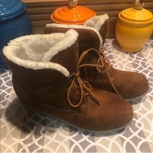 Shoes - Sherpa booties